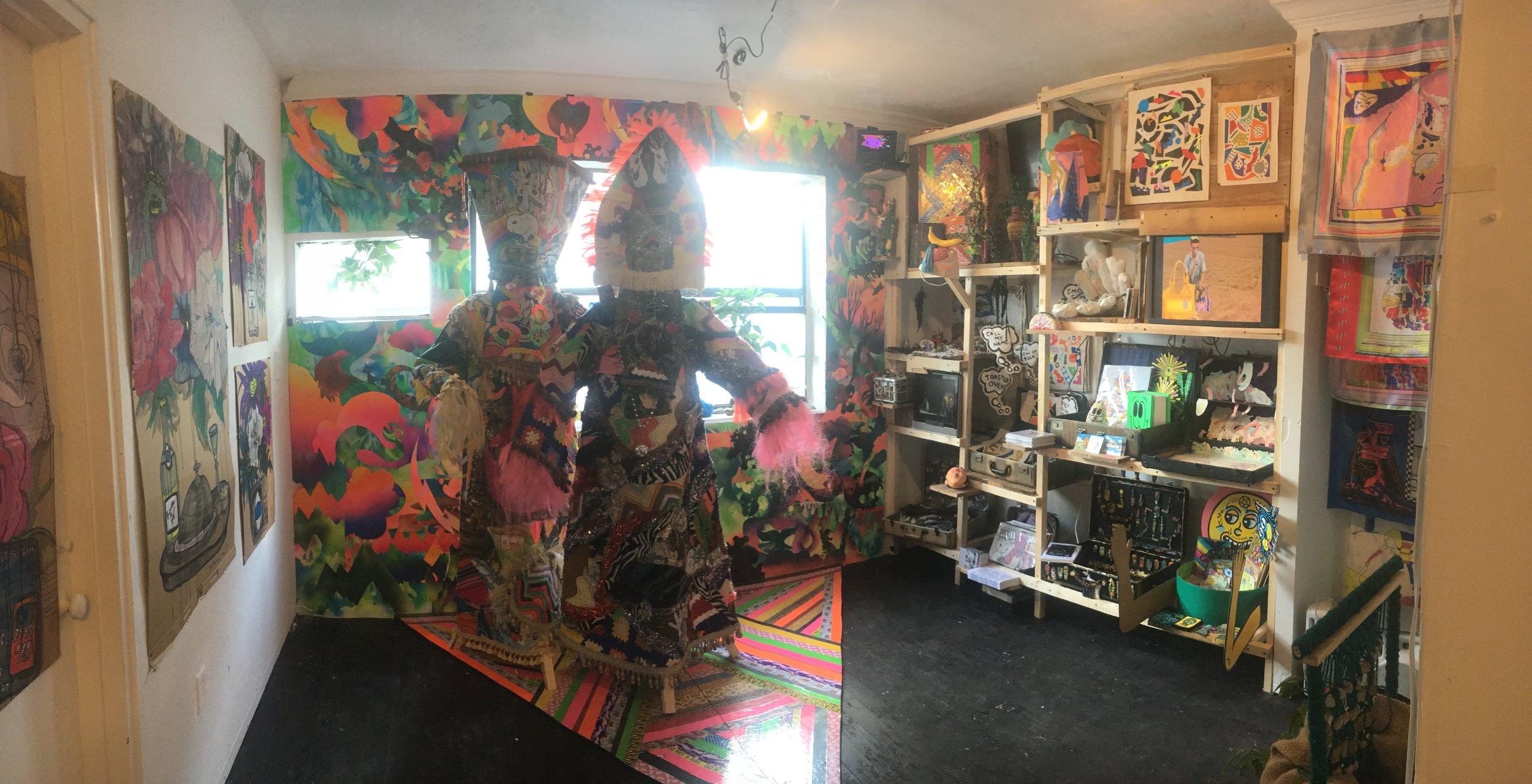 """Room Service"" Installation at Satellite Miami 2017"
