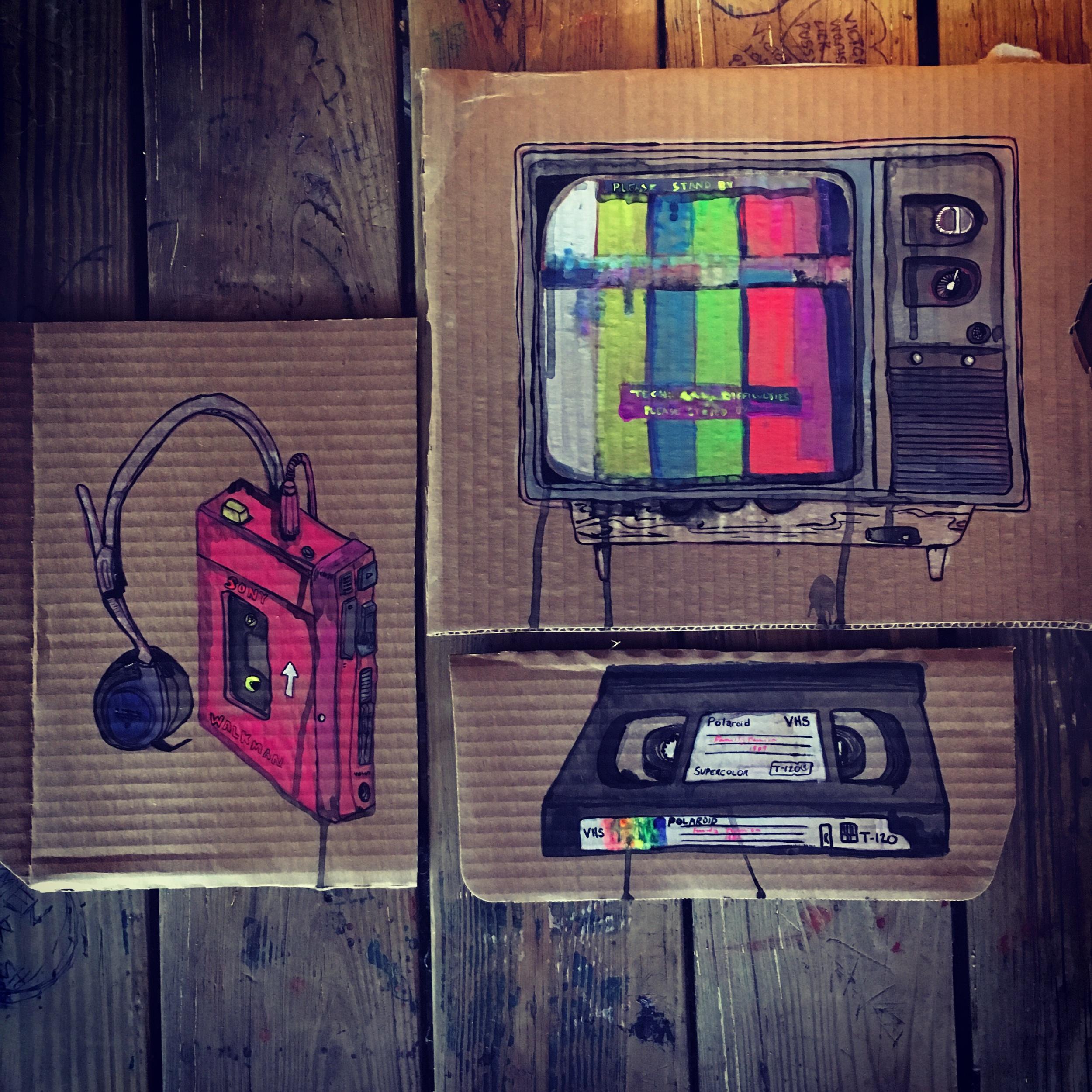 Chups vintage electronics 2019