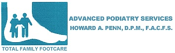 advance podiatry services - howard penn dpm, facfas