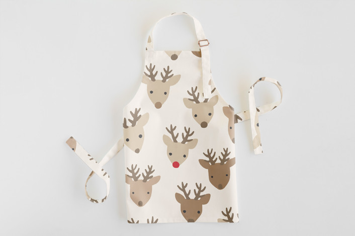 Red Nose Children's Apron