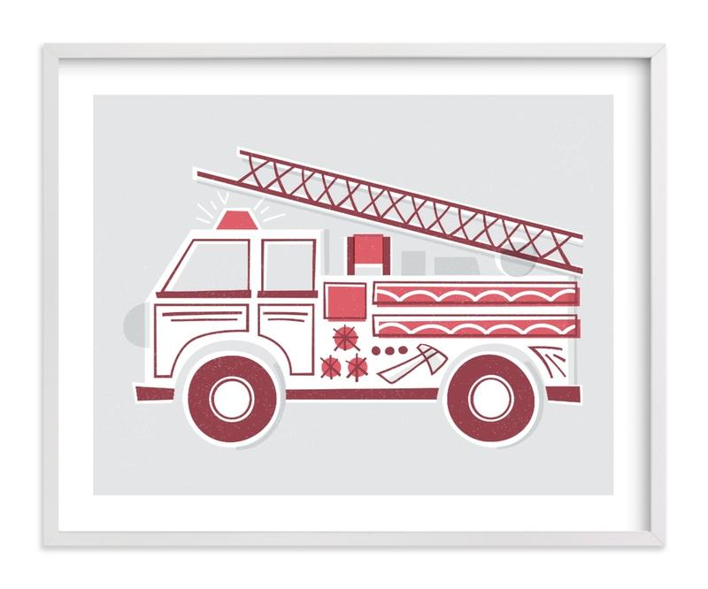 Fancy Firetruck