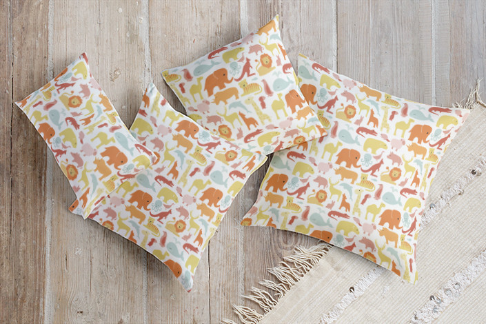 Animals of the World Pillows