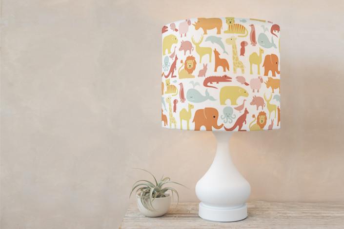 Animals of the World Lampshade