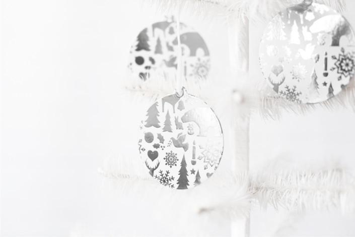 Wintery Mix Ornaments