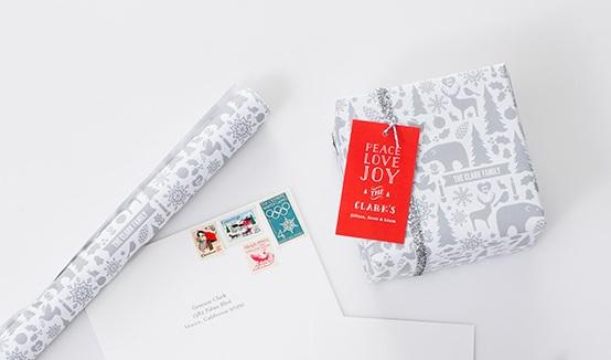 Wintery Mix Gift Wrap