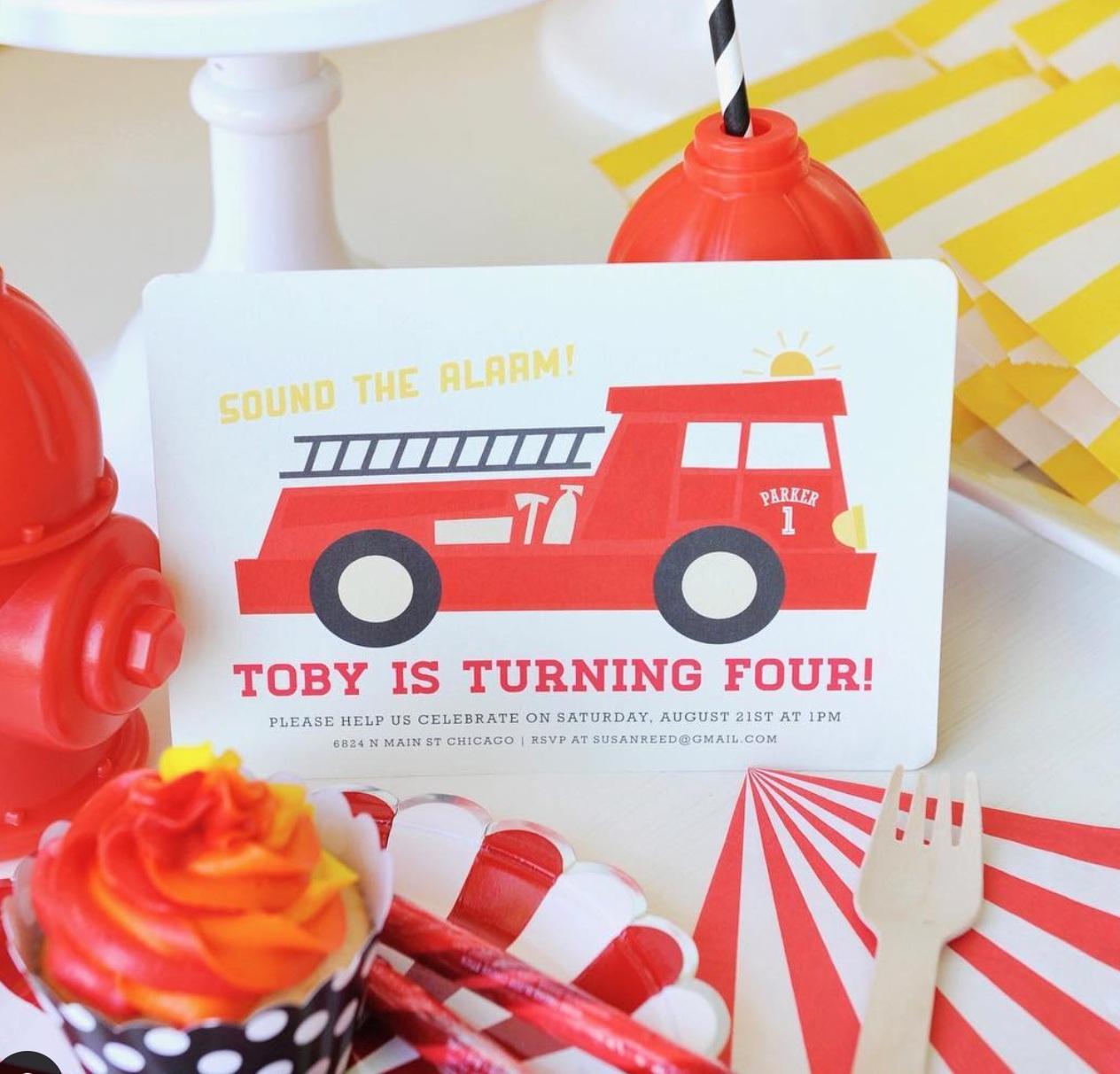 Five Alarm Birthday Party photos by  Happy Wish Company