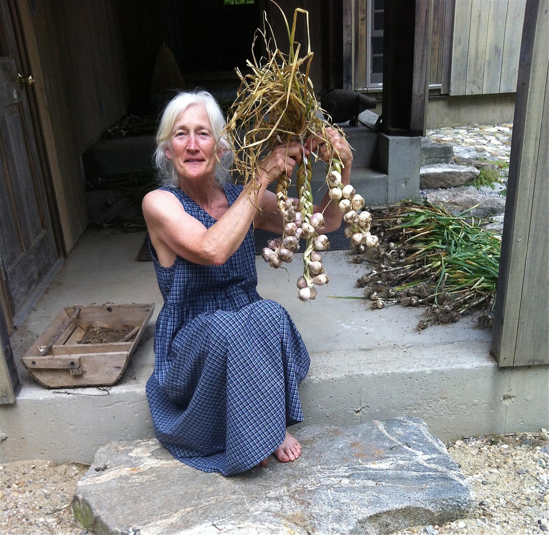 Suzanne w garlic.jpg