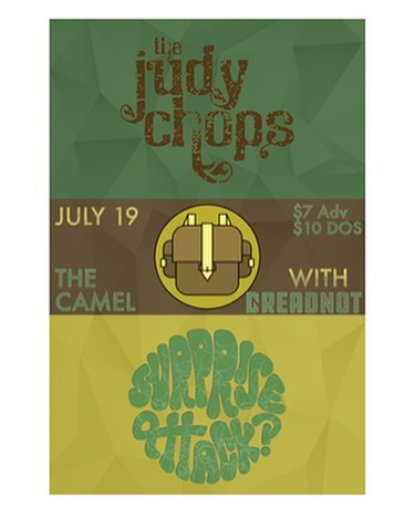 FRIDAY NIGHT 7/19 @thecamelrva w/ @surpriseattackdc & @thejudychops ! #rva #rvamusic #richmond #thecamelrva