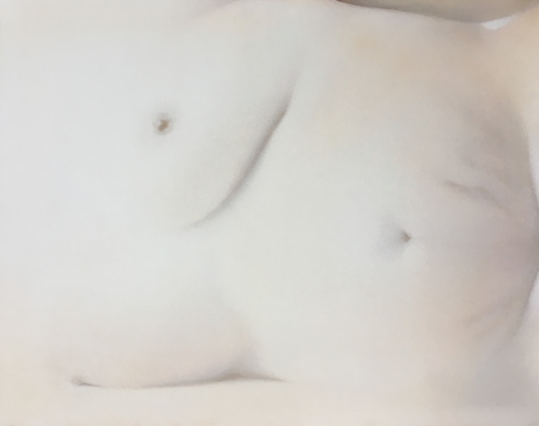 Melatonin  Pastel on paper  16.5 x 12.5 inches  2019