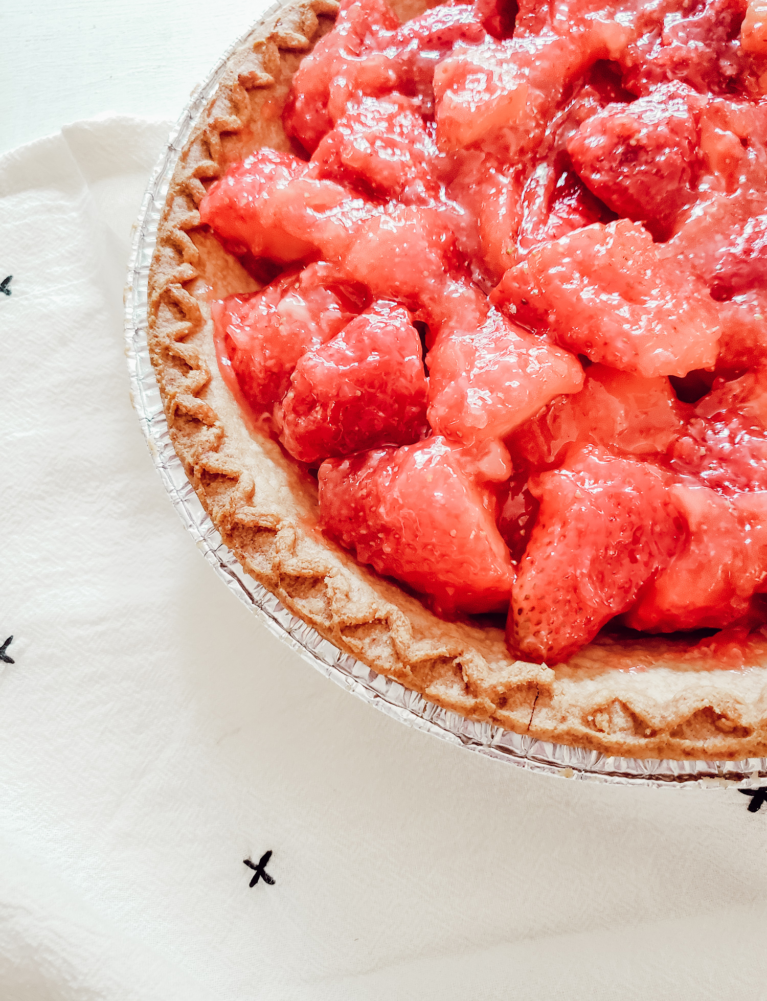 What I Baked This Week: Strawberry Pie - Allyson J Johnson