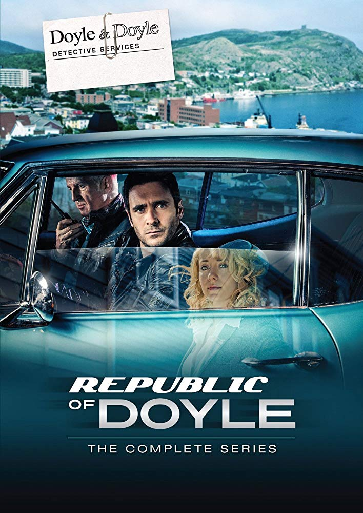 Republic of Doyle - Take the Shot Prod., CBCListen NowJake and LeslieThe Boyd Gang Allan Hawco, John Vatcher, exec. prods Rob Blackie, prod.