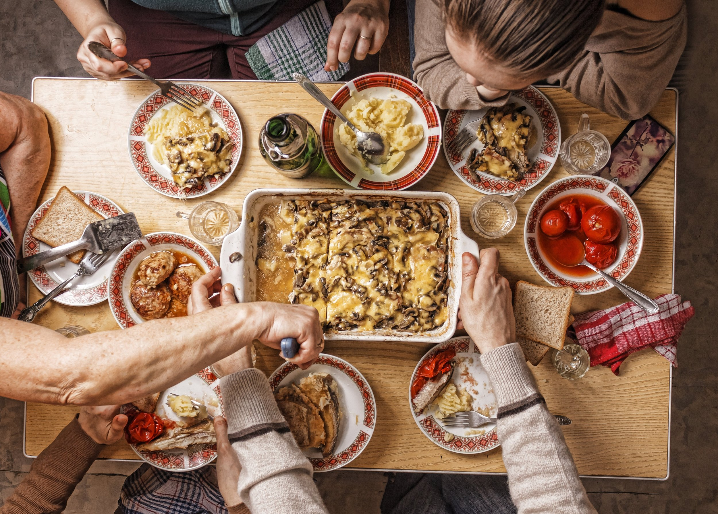 Step ④ - EAT IT UPSavour the deliciousness of your home-cooked meal with the ones you love.