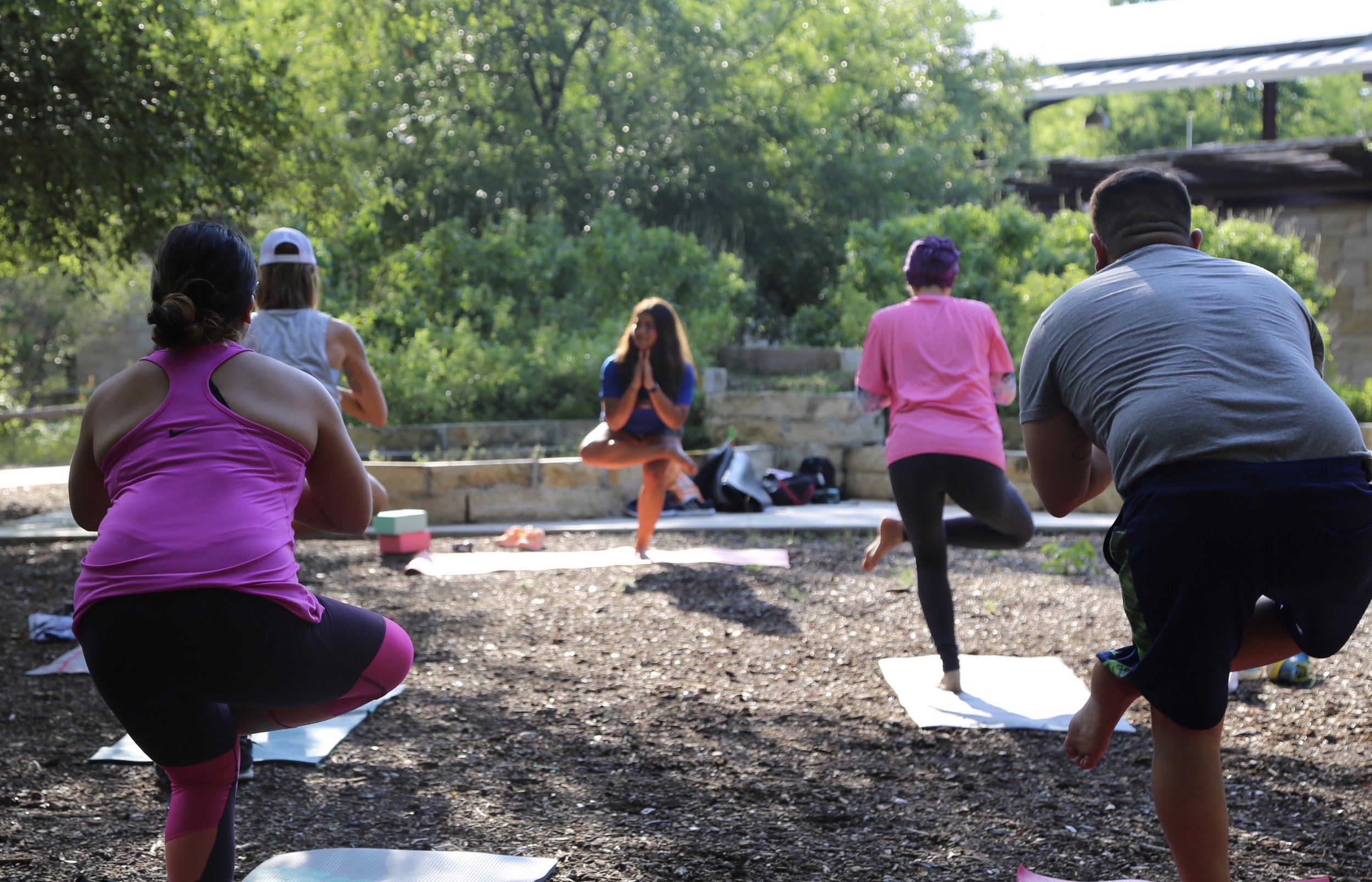 Fitness in the park - Join in on one of the many free Fitness in the Park classes.