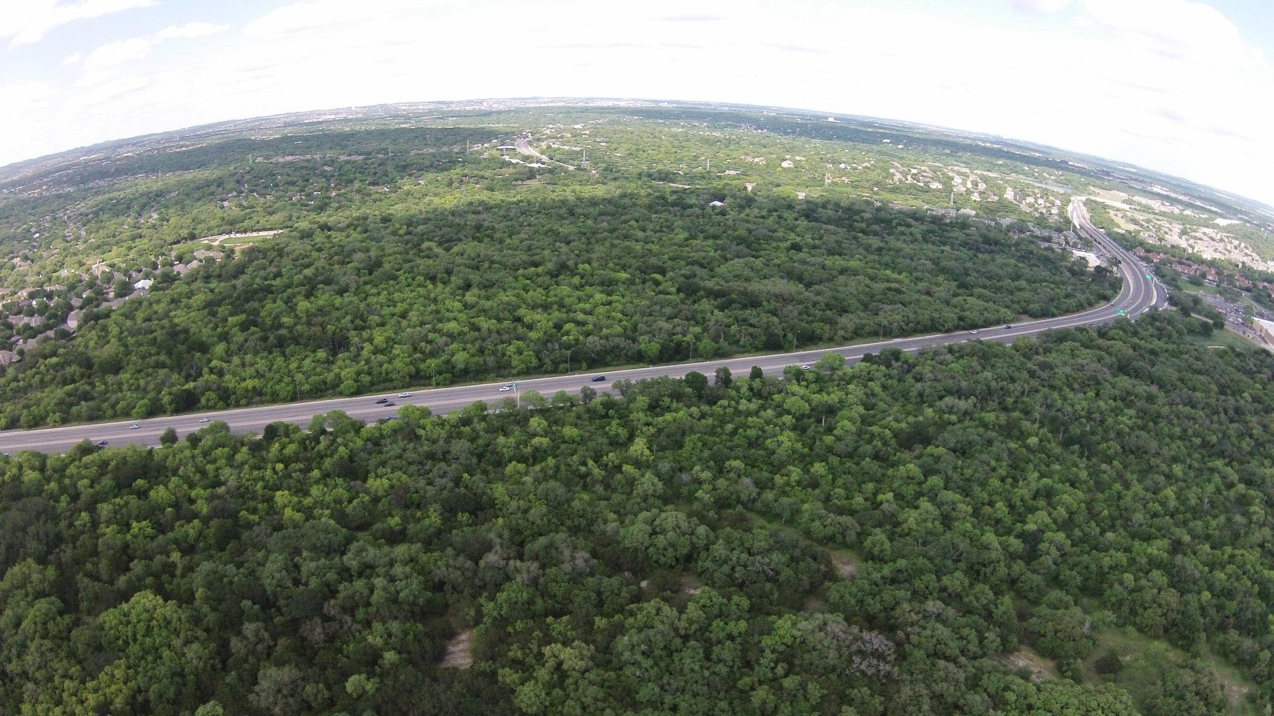 Wurzbach Pkwy drone overview.jpg