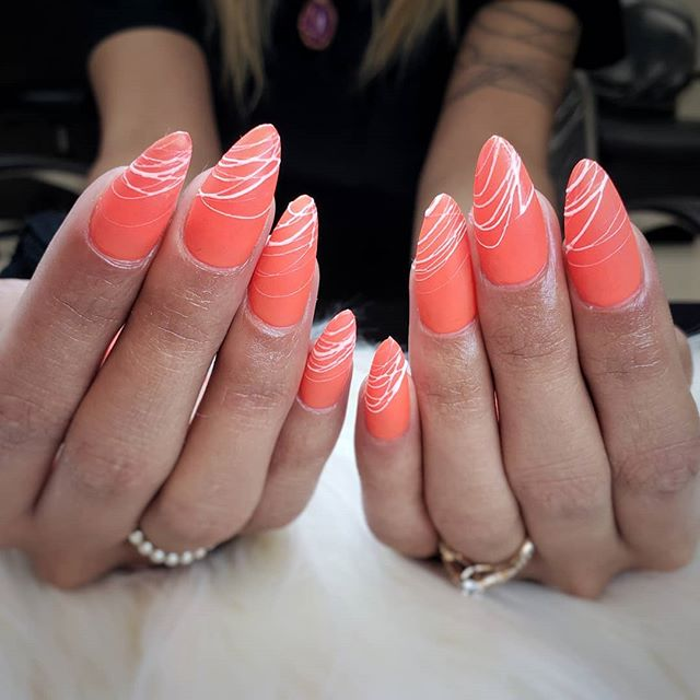 𝔾𝕖𝕝 𝕏 & 𝕊𝕡𝕚𝕕𝕖𝕣 𝔾𝕖𝕝! . . Appts available with me @my_beauty_bar_spa Book through my bio or my new nails only page @the.sacred.nail . . . .  #kassavalife #thesacrednail #bntc #gelx #nailpro #almondnails #neon #spidergel #abstractdesign #claws #clawstnt #nailsmag #sacramentonails #sacramentobusiness #sacramento #elkgrove #elkgrovenails #summernails #neonorange #916nails #bayareanails #lanails #sfnails #midtownsac #norcal #california #gelnails #gelmanicure #mattenails #laquenailbar