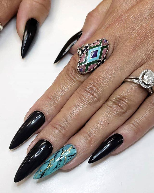 𝔗𝔲𝔯𝔮𝔲𝔬𝔦𝔰𝔢 . . Stilleto Gel-X by @apresnailofficial  Gel Polish by @daily_charme . . . #kassavalife #thesacrednail  #jewelry #bohemian #bohochic #summer #sterlingsilver #wellbeing #wanderlust #california #sactown #916nails #sacramentonail #sacramentonailtechs #stilletonails #marblenails #bayareanails #gelxnails #elkgrove #sfnails #bntc #gelnails #ネイルアート #手描きネイル #нейларт #покрытиегельлак #almondnails #napa #stockton #dailycharme