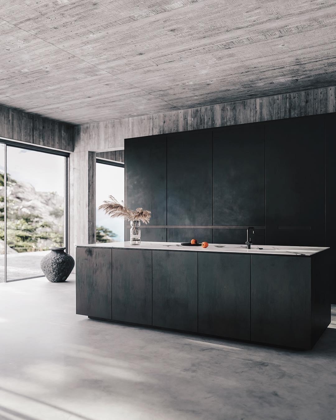 Kitchen in stone