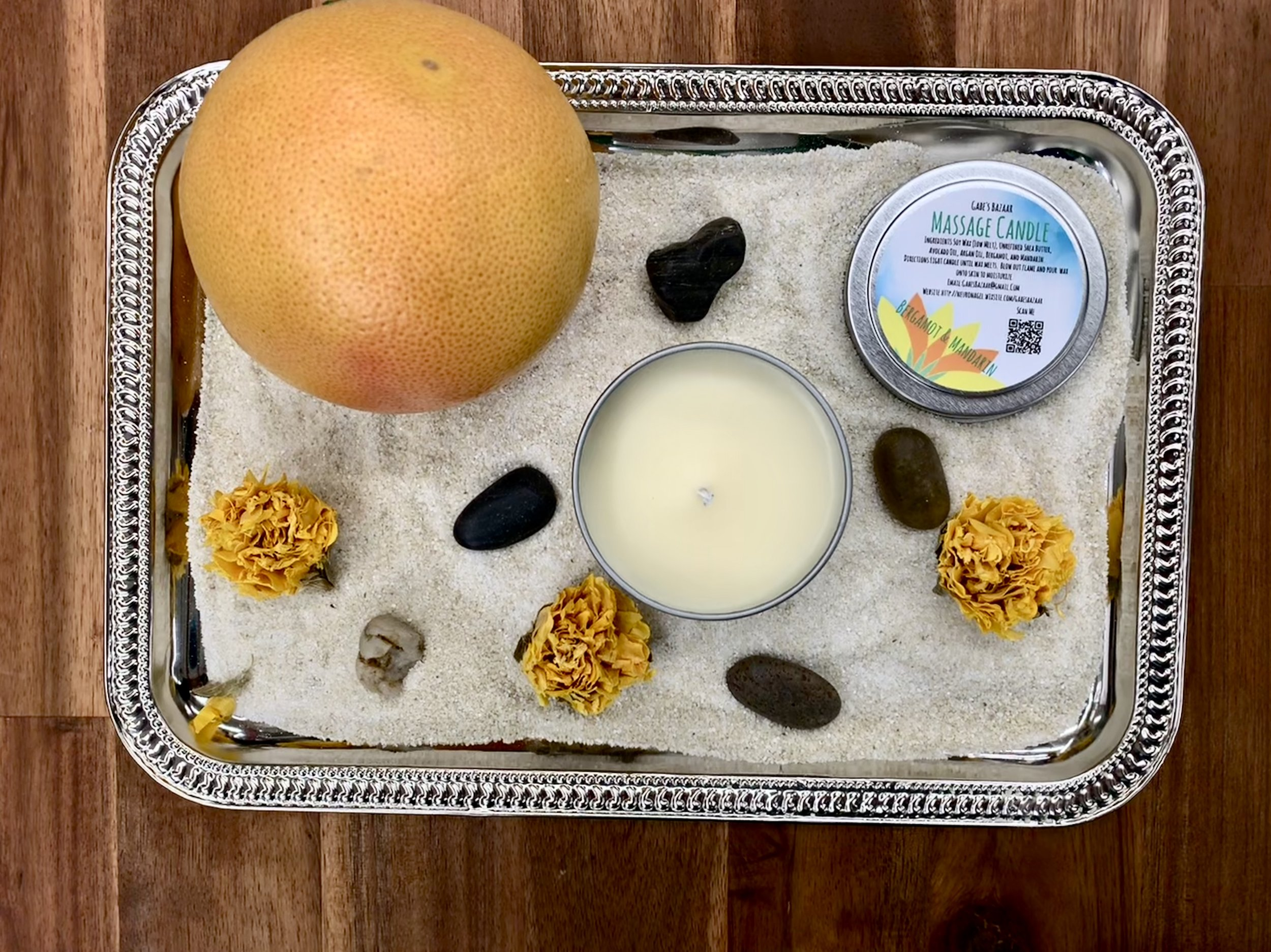Citrus Burst Moisturizing Massage Candle