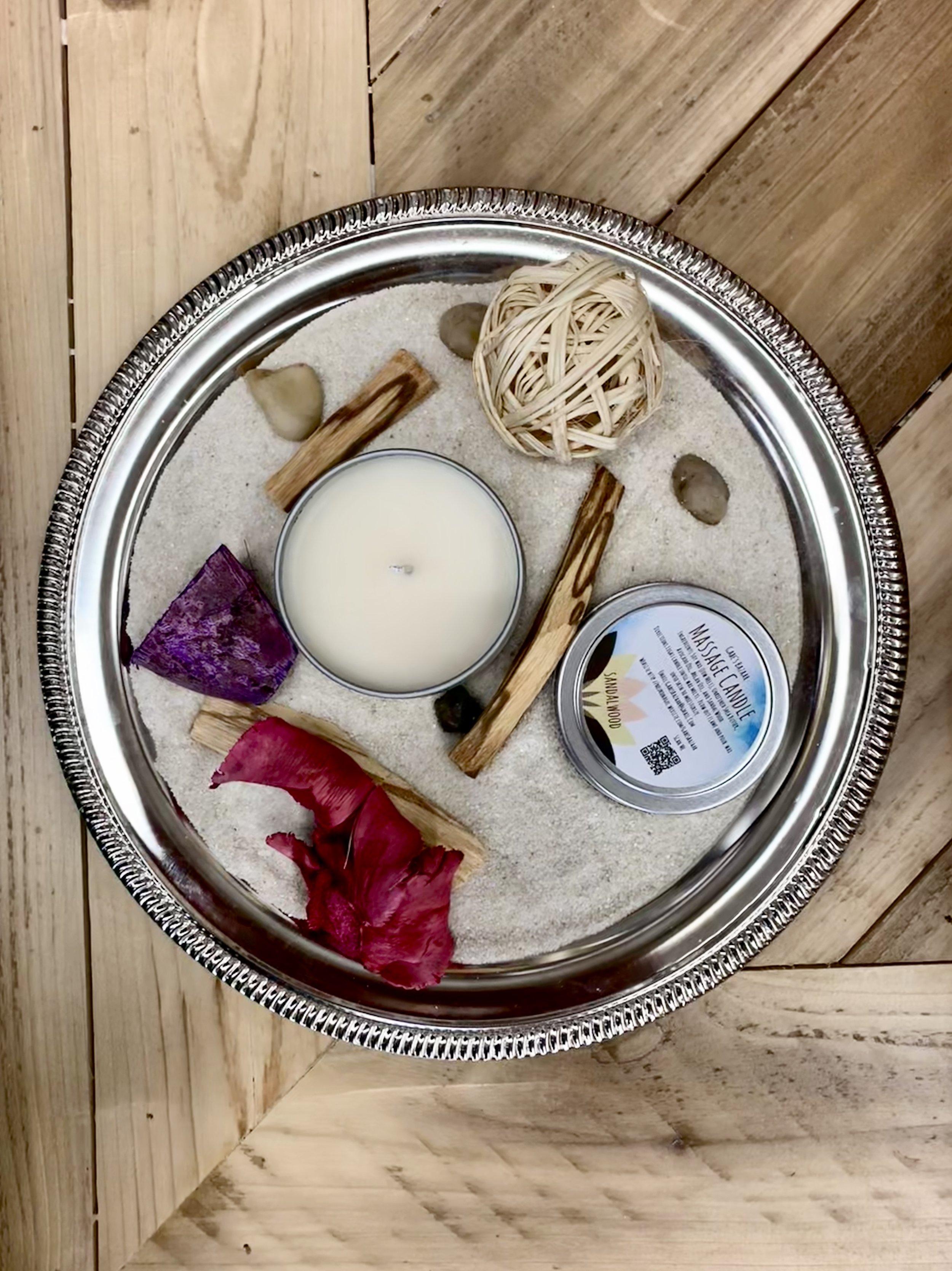Sandalwood Moisturizing Massage Candle
