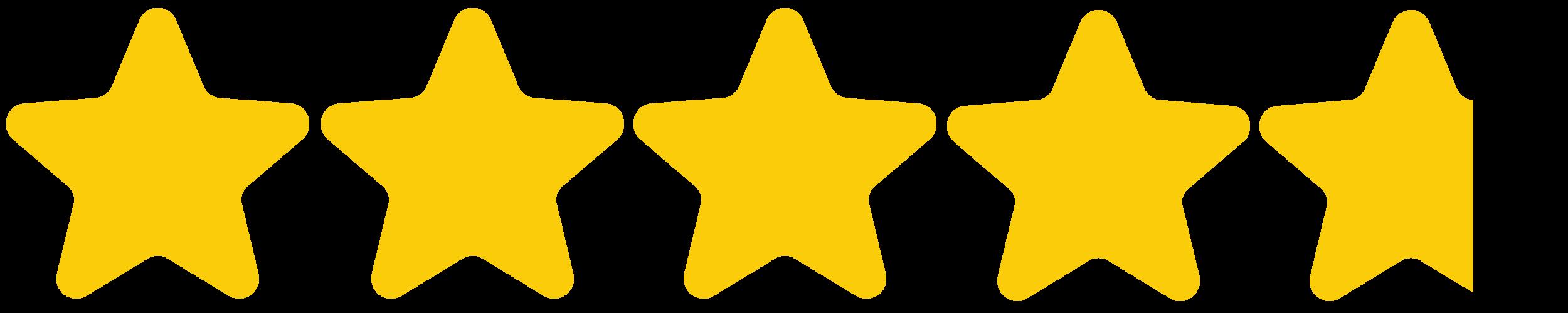 - (4.75 stars)