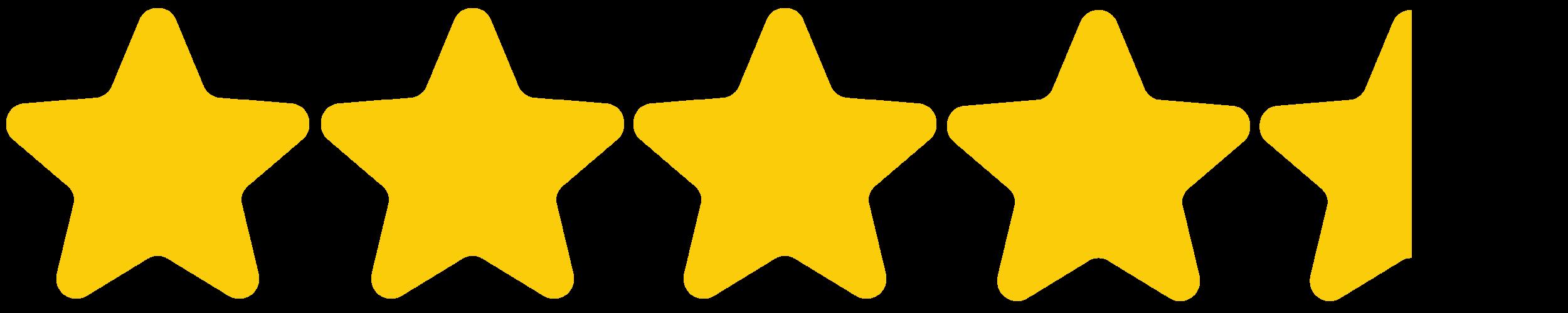 - (4.5 stars)