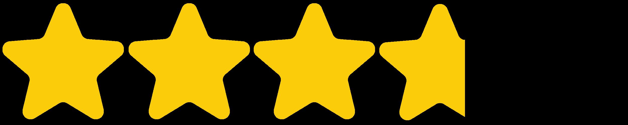 - (3.75 stars)
