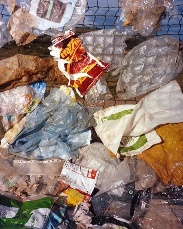 many men's trash is another women's ? what could you see yourself making with all this plastic?  @moreorlessmag @harleyweir