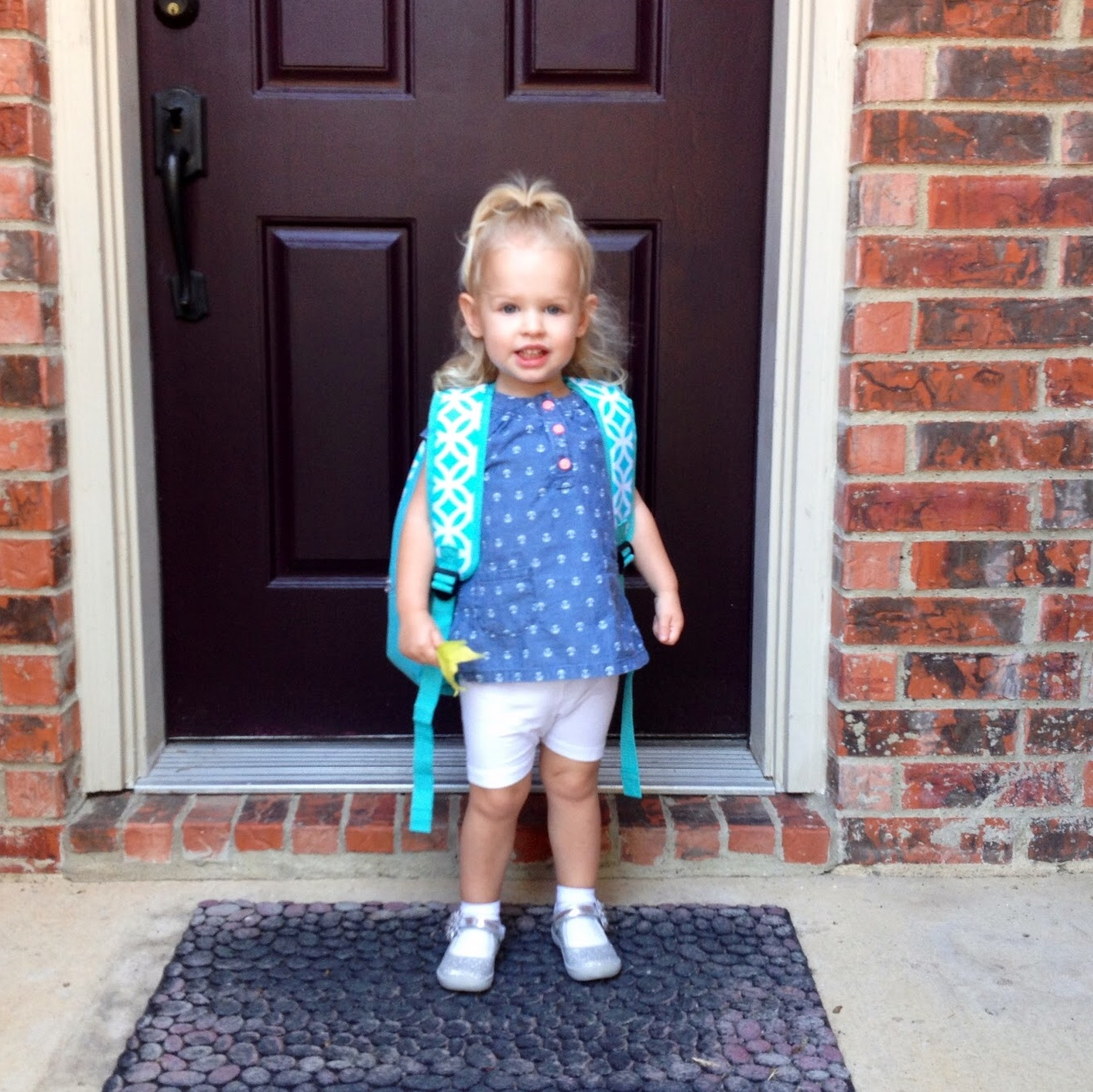 First day of Preschool 2s!