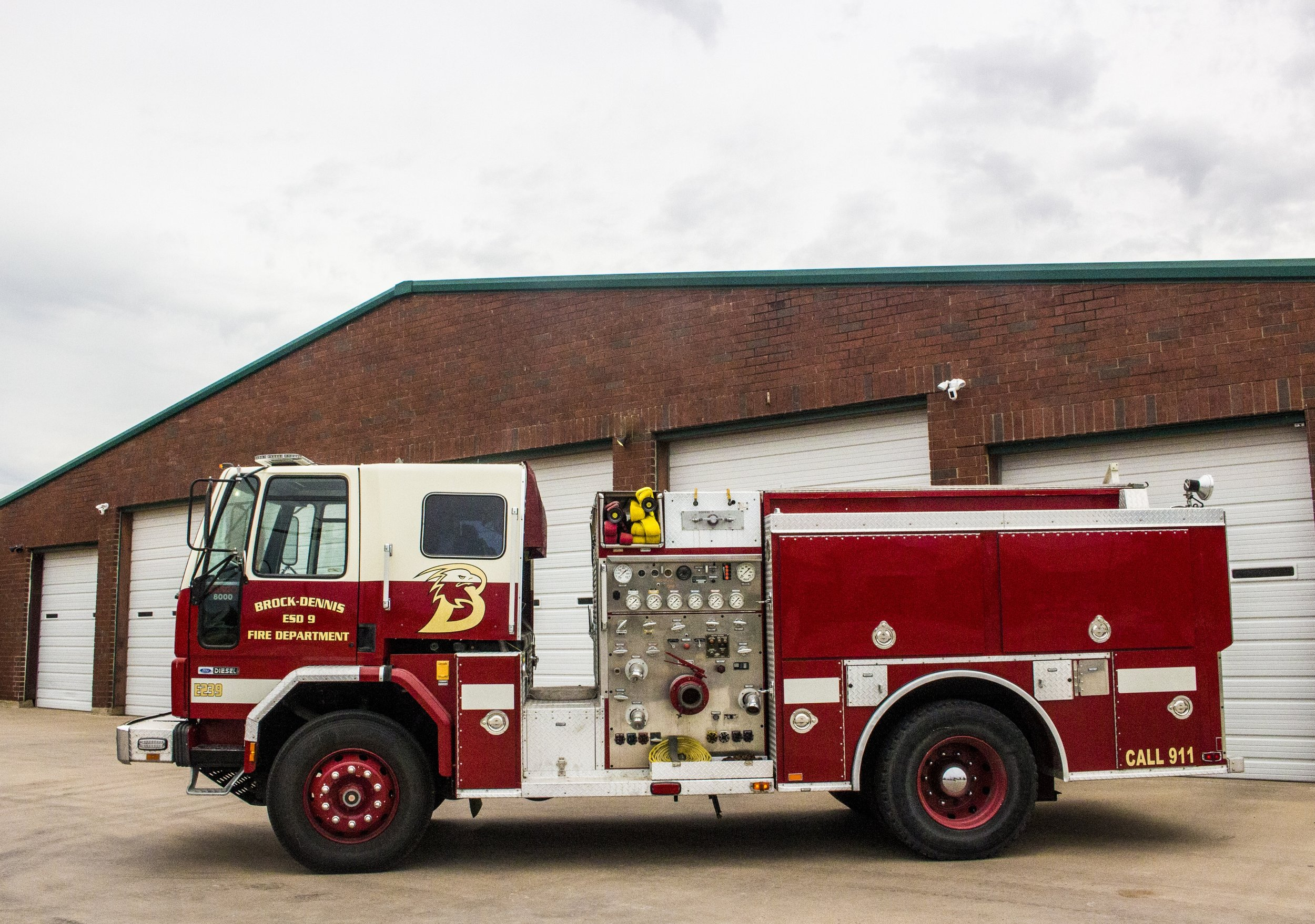 E239 - We purchased this truck from California in 2007 to replace a truck that was no longer dependable. It has a 500 gallon water capacity and can carry 5 firefighters. The BDVFD donated this truck to Gordon VFD in 2019.