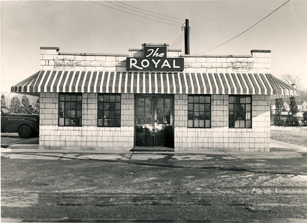 The original Vaccaro's Location-circa 1957
