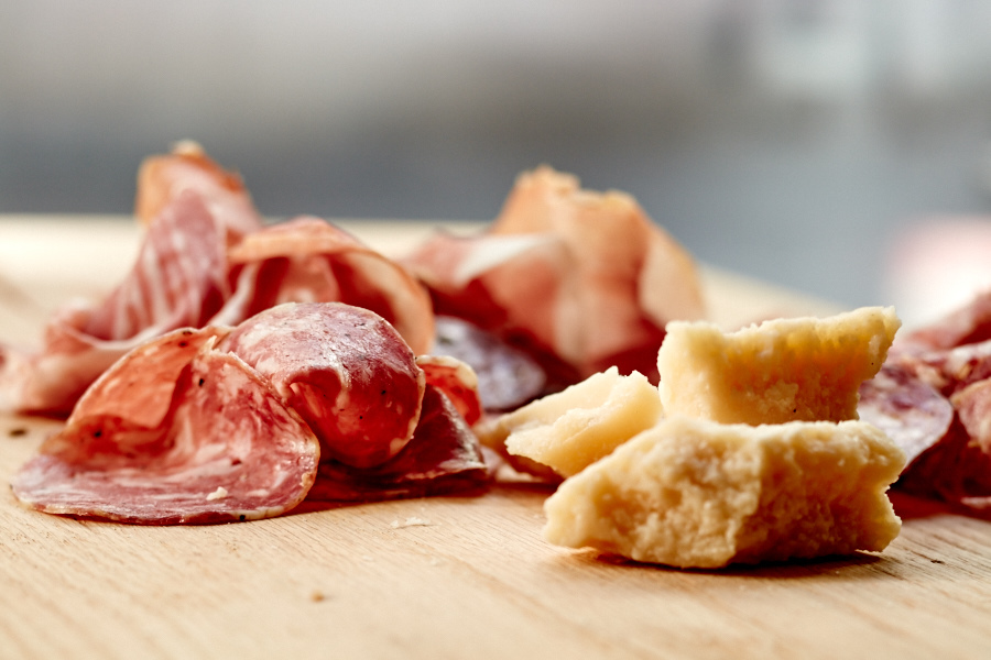 Italian Meats and Cheese