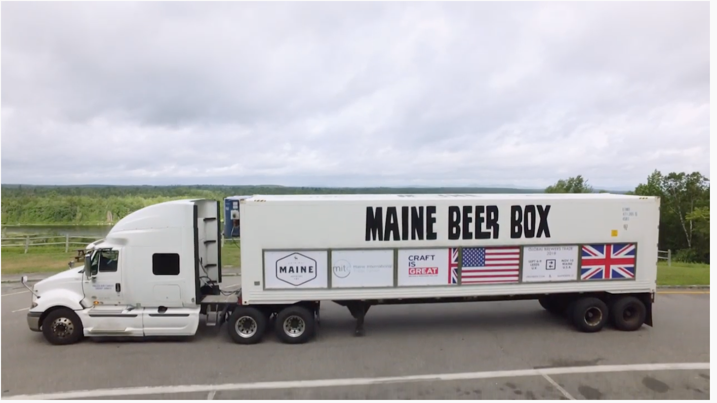 Maine Beer Box Journey 2018 - This video made by the Maine Brewer's Guild highlights the journey of the Maine Beer Box around the state of Maine.