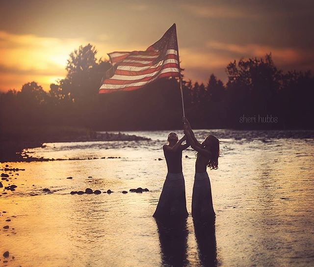 Home of the free because of the brave.  #sherihubbsphotography #eugeneoregon #inspiredbylight #lanecounty #springfieldoregonphotography #outdoorphotography #instagood #photooftheday #500px #viewbugfeature #viewbug #portraitphotography #featureme #oregonphotography #awardwinning #fstoppers #pixel_kids #justgoshoot #artofvisuals #freedom #childhoodunplugged #childhoodeveryday #memorialday #capturedconcepts #cpcfeature #pursuitofportraits #kidmood #kids_of_our_world #childrenofinstagram #ig_masterpiece