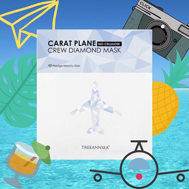Bio-cellulose, word of the day. Aka a mask that's clingier then @mandakosmas ex on FB ✈️ 𝕋𝕠𝕕𝕒𝕪 we are reviewing Treeannsea's - Carat Plane Crew Diamond Mask AKA a bio-cellulose sheet mask…DW I WTF at that too read on. ✈️ 𝔽𝕚𝕣𝕤𝕥 𝕥𝕙𝕚𝕟𝕘𝕤 𝕗𝕚𝕣𝕤𝕥: Alrighy let's chat about bio-cellular masks first. In short they are a bacteria that grown in a lab and not your standard cotton/wool microfiber masks.  They fit more snugly and trap the ingredients from evaporating quickly ✈️ 𝕎𝕙𝕖𝕟 𝕥𝕠 𝕦𝕤𝕖: When you skin needs some help flaunt it's sparkly self ✈️ 𝕎𝕙𝕪 𝕨𝕖 𝕝𝕠𝕧𝕖 𝕚𝕥: ok I love a bio-cellulose mask. The fabric bacteria whatever it is, is amazing. Swipe across to see the mask and it's backing. I am s confused on this mask, everyone is repping this and I just felt a bit meh. My skin felt hydrated and dewy. It wasn't extremely moisturising, hydrating yes. But not  moisturising as promised. This could very well be a classic case of, not the right mask for my skin at the time. Would I recommend everyone tried it 100% because it really does have great reviews. ✈️ 𝕃𝕖𝕥'𝕤 𝕝𝕖𝕧𝕖𝕝 - Make sure you take the mask out, squeeze out the essence and place this on your face before the mask. This will ensure you get extra clinginess ✈️ Skin Types: All ✈️ Concerns: hydration & moisturising ✈️ Lifestyle: Me time ✈️ Time: 20 mins ✈️ Price: $$$✈️ Rating: 3 Stars. ✈️ Scent - none ✈️ #whatthesheettryagain. Check out the link in our profile for the full review. - you can buy this bad boy at @myfacetory