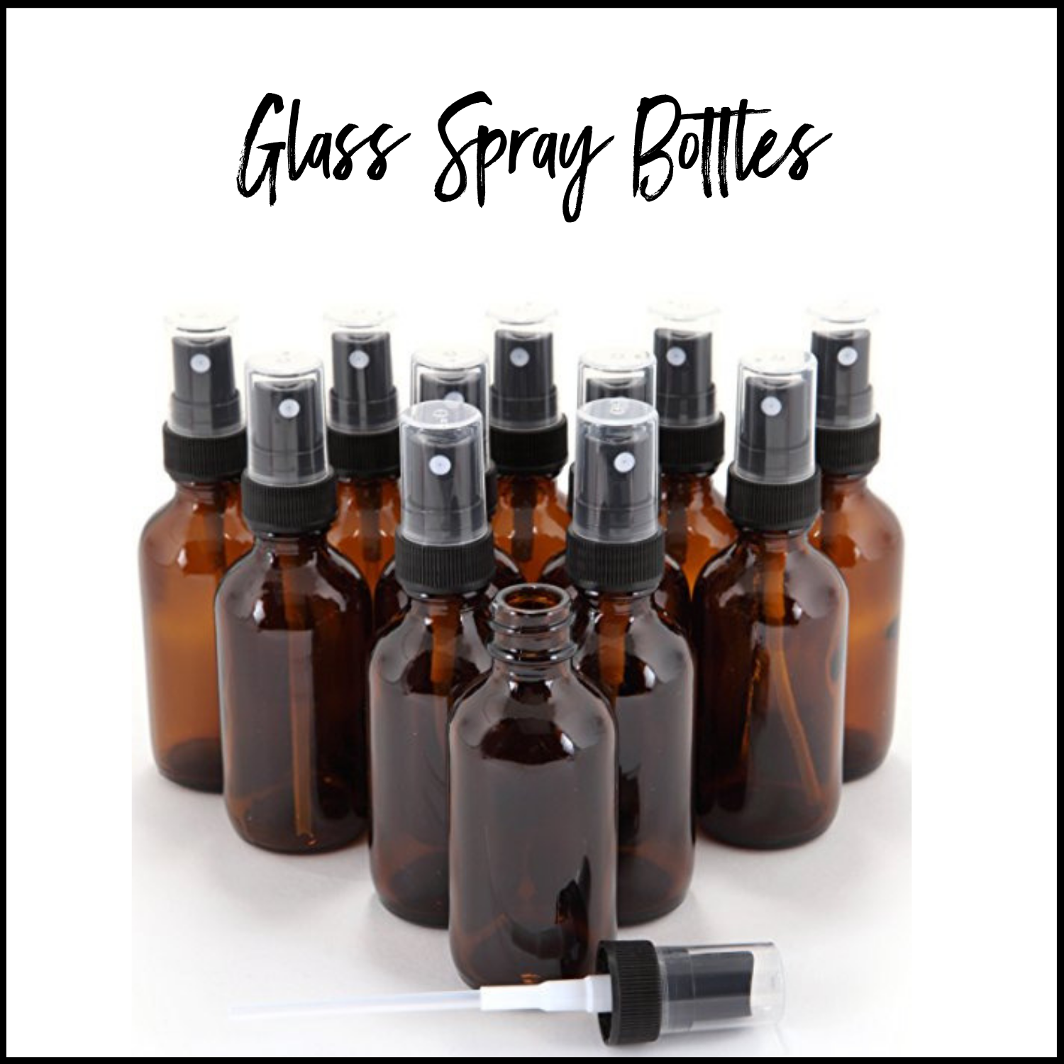 Glass Spray Bottles For Essential Oil Recipes