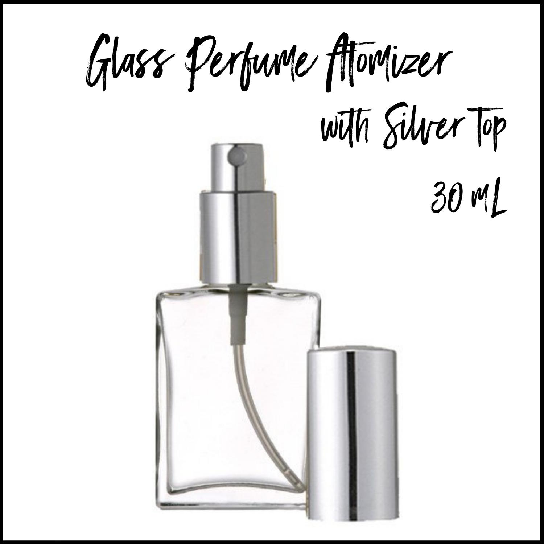 30mL Perfume Atomizer w/ Silver Sprayer