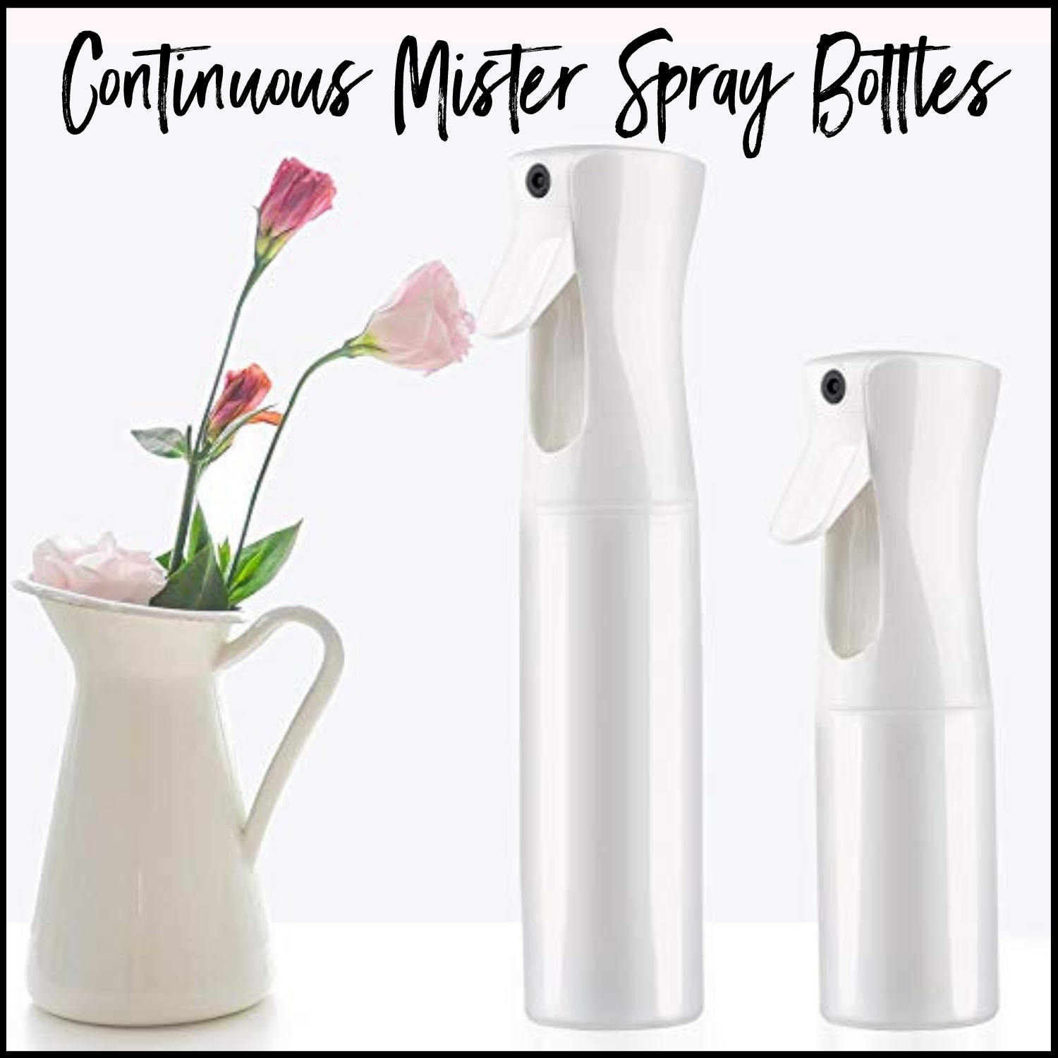 Continuous Mister Spray Bottles