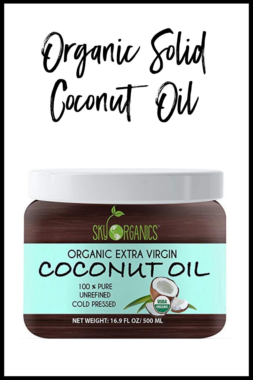 Organic Solid Coconut Oil
