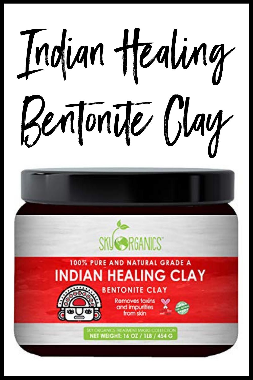 Indian Healing Bentonite Clay