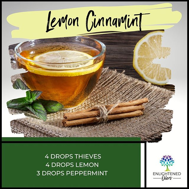 Stay well this fall with this wonderful blend of essential oils.  What are some of your favorite fall wellness tips?  Lemon Cinnamint 4💧Thieves  4💧Lemon  3💧Peppermint   * * * * #diffuserrecipes  #enlightenedoilers #essentialoils #youngliving #naturalliving #wellness #plantbased #essentialoilswork #essentialoilsrock #essentialoilsforlife #oilsforeverything  #yleo #younglivingessentialoils #younglivingeo #theresanoilforthat #nontoxic #holistichealth  #naturalsolutions #oilylife #oilymom #oilyfamily #lemon #peppermint #thieves #lemoncinnamint #fallwellness #wellnesstips