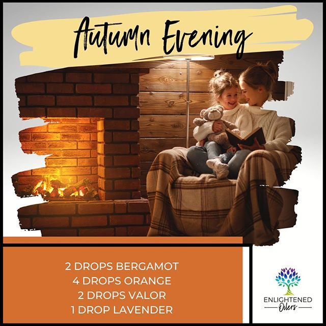 Oh how I wish they would stay little forever!  What's your favorite way to spend time with your littles on autumn evenings?  Autumn Evening 2💧Bergamot  4💧Orange  2💧Valor 1💧Lavender  * * * * #diffuserrecipes  #enlightenedoilers #essentialoils #youngliving #naturalliving #wellness #plantbased #essentialoilswork #essentialoilsrock #essentialoilsforlife #oilsforeverything  #yleo #younglivingessentialoils #younglivingeo #theresanoilforthat #nontoxic #holistichealth  #naturalsolutions #oilylife #oilymom #oilyfamily #autumn #cozyfire #bergamot #orange #valor #lavender #familytime