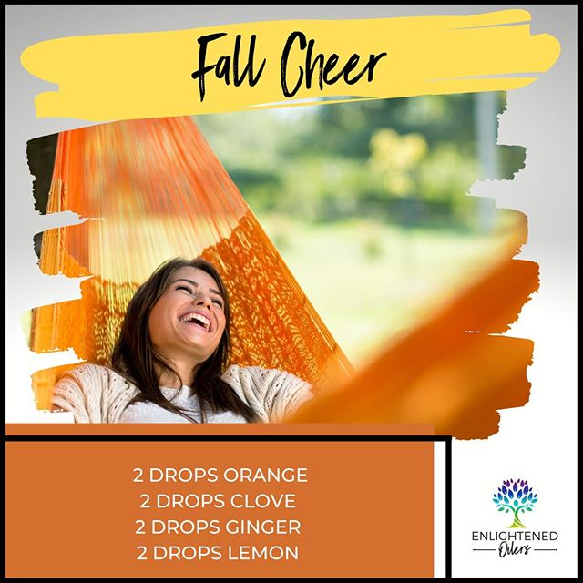 Who said hammocks and relaxing are only for the spring and summer?! What do you do to unwind in the beautiful days of fall?  Fall Cheer 2💧Orange  2💧Clove  2💧Ginger 2💧Lemon  * * * * #diffuserrecipes  #enlightenedoilers #essentialoils #youngliving #naturalliving #wellness #plantbased #essentialoilswork #essentialoilsrock #essentialoilsforlife #oilsforeverything  #yleo #younglivingessentialoils #younglivingeo #theresanoilforthat #nontoxic #holistichealth  #naturalsolutions #oilylife #oilymom #oilyfamily #fallcheer #happiness #relax #nostress #orange #clove #ginger #lemon #fall