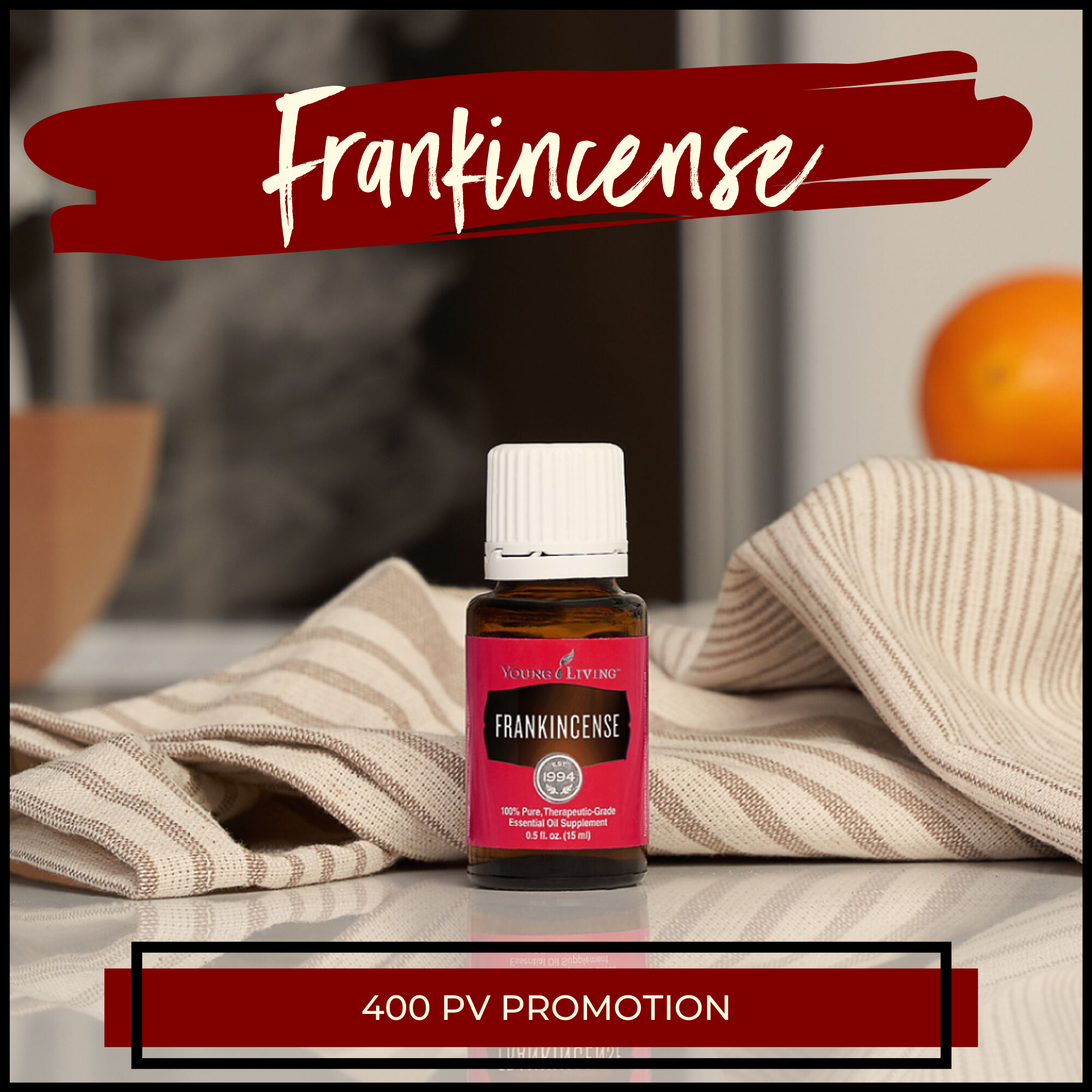 Young Living Monthly Promotions October 2019 Frankincense
