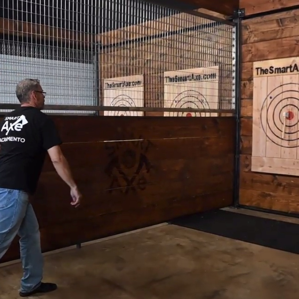 Sac Bee:  Take a peek inside new ax-throwing bar opening in Rancho Cordova