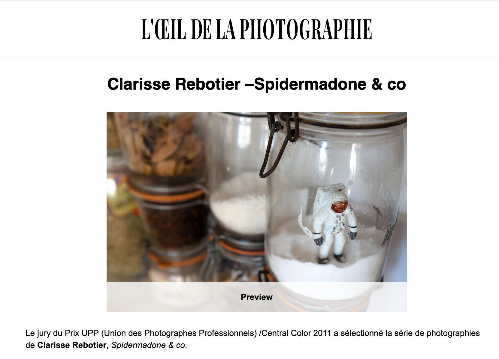 L'OEIL DE LA PHOTOGRAPHIE, oct 2011