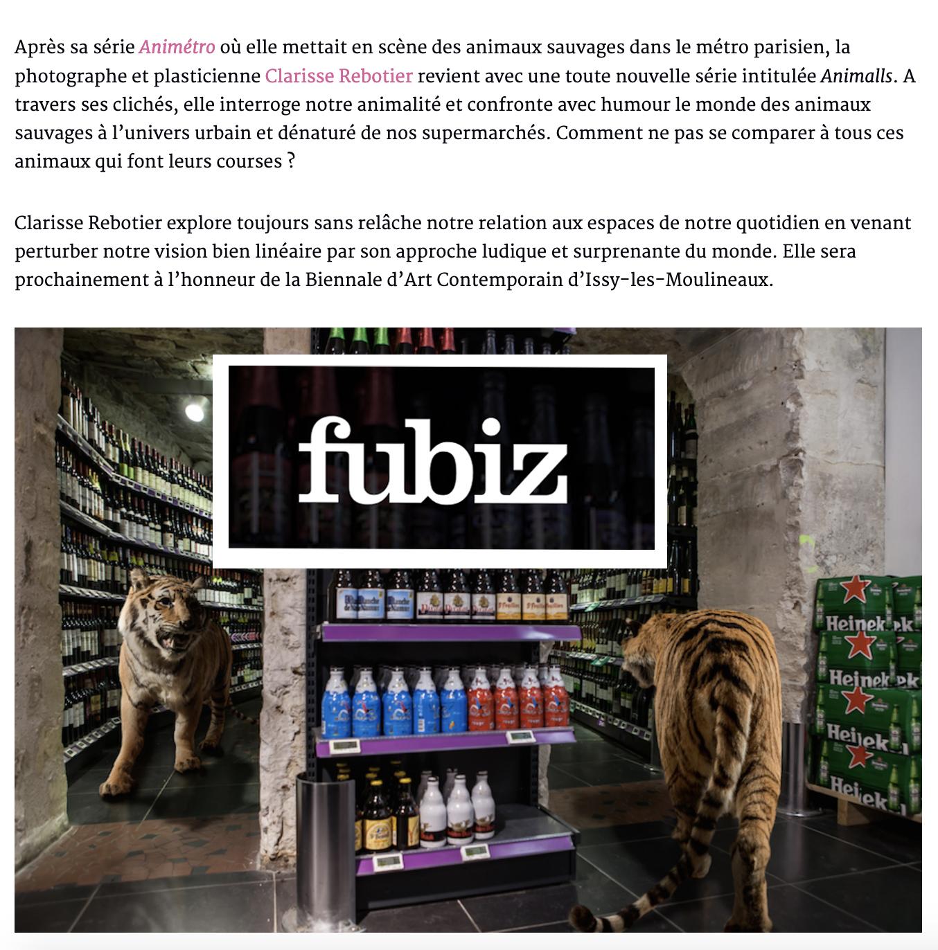 FUBIZ, 12 juillet 2016