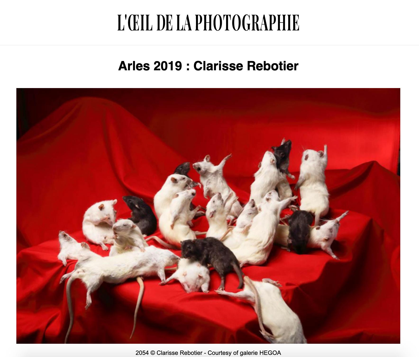 L'OEIL DE LA PHOTOGRAPHIE, 8 juillet 2019