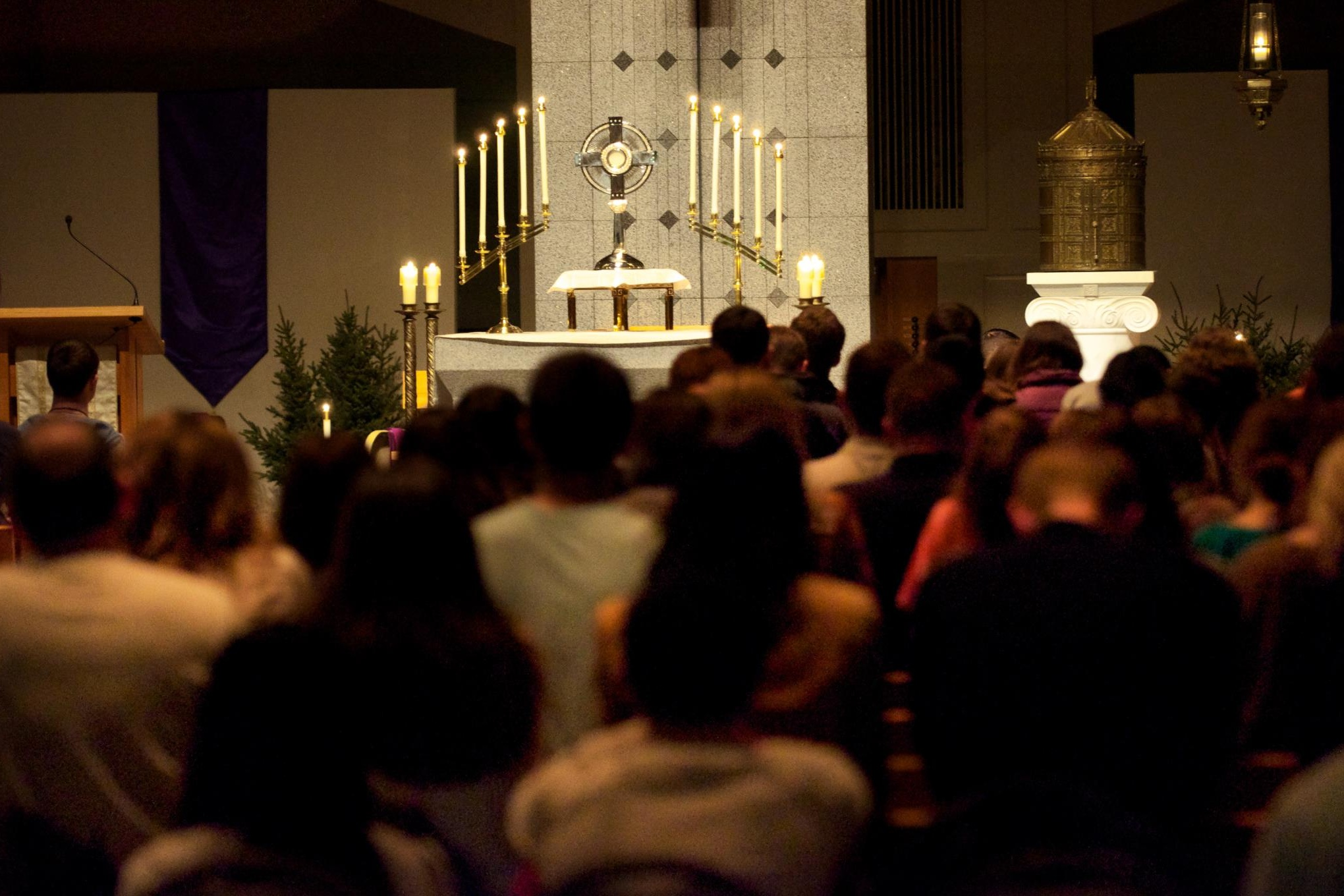 Cor Jesu - A monthly evening of Adoration, confessions, and praise and worship. Every first Friday of the month during the school year at the St. Paul Seminary.