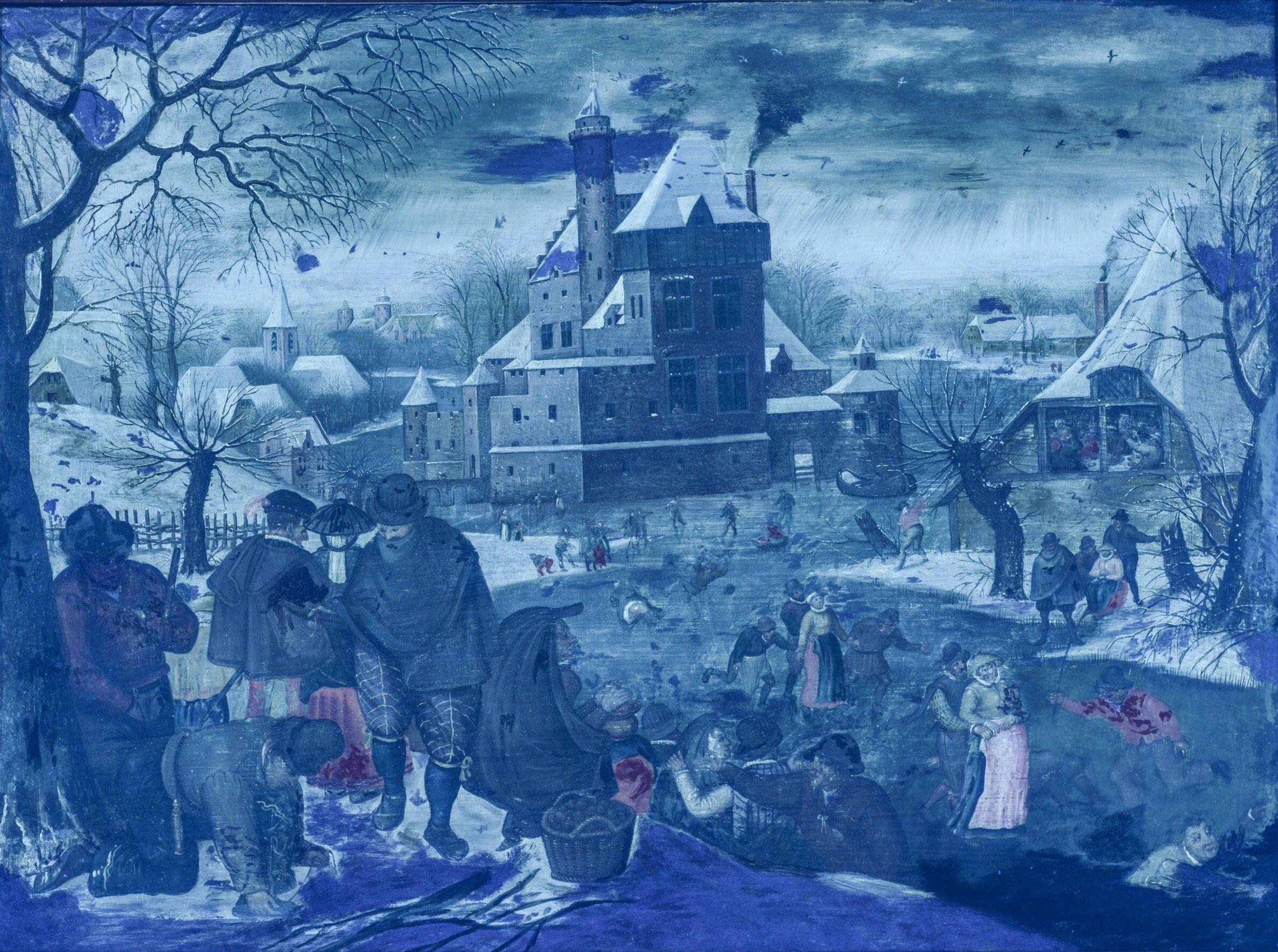 'Winter' in UV light