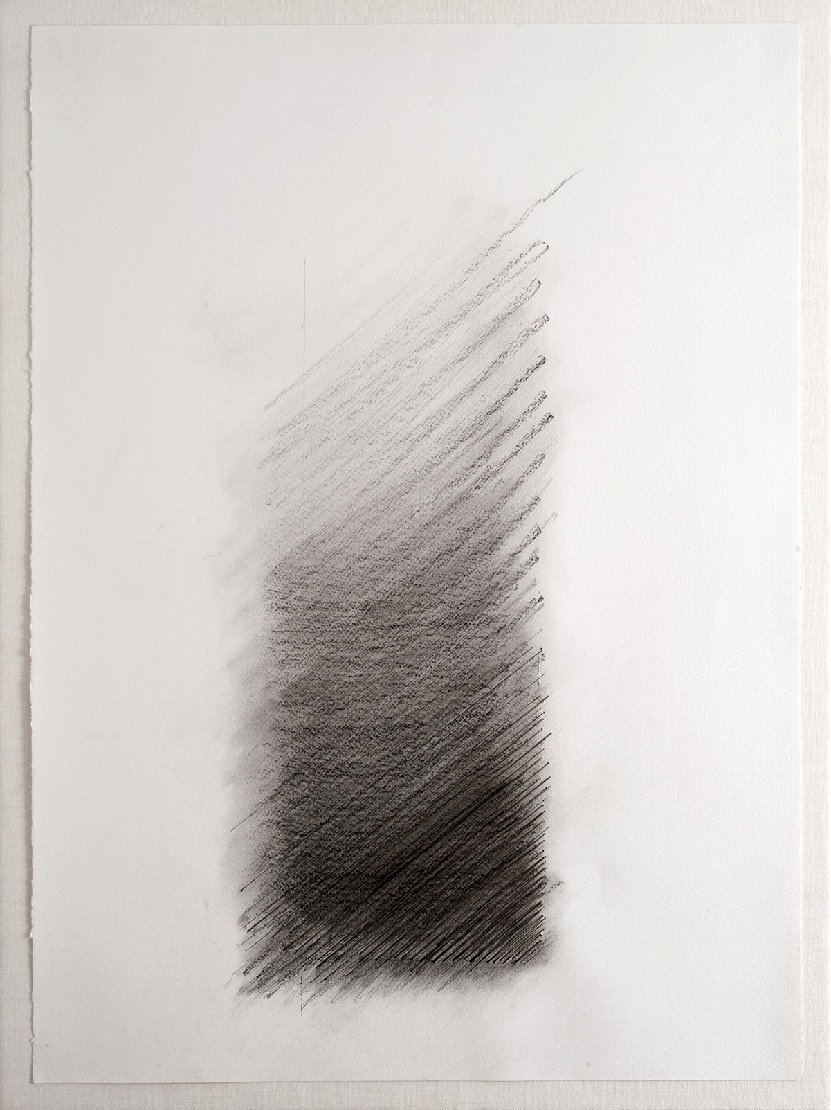 SLANT   Pencil, paper, thread  30 x 22 Inches